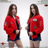 Toko Jual Flight Bomber Ladies Sensor Red Chili