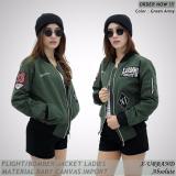 Beli Flight Bomber Ladies Urband Absolute Green Army Terbaru