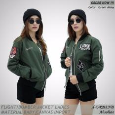 Beli Flight Bomber Ladies Urband Absolute Green Army Azkar Online
