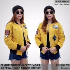 Jaket Bomber Wanita Urband Absolute (Yellow)