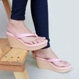 Sandal Wedges Jepit Flip Flops Wanita Yn12 Salem Debuchy Diskon 30