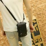 Jual Flone Tas Kerja Selempang Pria Hitam Cool01 Mens Office Bag Import