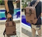 Toko Flone Tas Ransel Pria Bahan Kanvas Simmon Coklat Men S Backpack Sm01 Terlengkap Di Di Yogyakarta