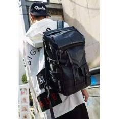 FLONE - Tas Ransel Pria Korea Impor - Hitam - ICNBG01