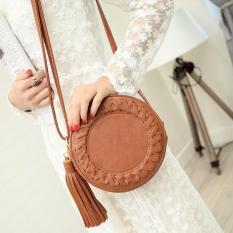 Spesifikasi Flone Tas Selempang Wanita Vintage Coklat Gk448 Women Bag Murah