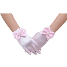 Beli Gadis Bunga Sarung Tangan Renda Pendek Putri Mesh Sarung Tangan Untuk Pernikahan Pink Intl Online Tiongkok