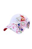 Harga Hemat Bunga Dan Kupu Kupu Olahraga Hat Putih