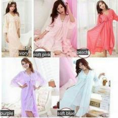 Model Flsm Kimono Bella Softblue Terbaru
