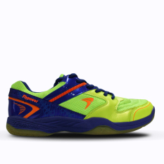 Flypower Pawon Sepatu Badminton Citrus Blue Orange