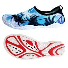 Review Toko Foldable Slip Pria Wanita Surf Aqua Beach Air Kaus Kaki Sepatu Olahraga Yoga Berenang Menyelam Anti Slip Bawah Air Sport Sepatu Intl