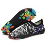 Ongkos Kirim Foldable Slip Pria Wanita Surf Aqua Beach Air Kaus Kaki Sepatu Olahraga Yoga Berenang Menyelam Anti Slip Bawah Air Sport Sepatu Putih Intl Di Tiongkok