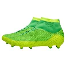 Beli Football Boots Sepatu Sepakbola Pria Boys Anak Sepakbola Cleat Fg Tinggi Ankle Sepak Bola Sepatu Hijau Intl Lengkap