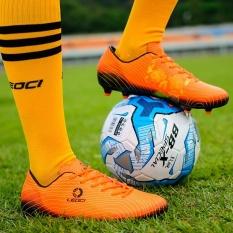 Sepatu Sepak Bola 2017 Rendah-Memotong Hypervenom Phantom 3 FG Sepak Bola Sepatu Sepak Bola-Oranye-Internasional