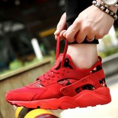 Jual Perdagangan Luar Negeri Sepatu Olahraga Sepatu Fashion Sepatu Kasual Rendah Kamuflase Wallace Sepatu Lari Intl Oem Ori