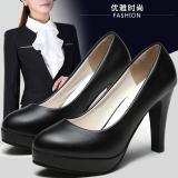 Jual Formal Dalam Warna Hitam Dengan Etiket Non Slip Sepatu Sepatu Kerja Matte Hitam 5 Sentimeter Dengan Murah
