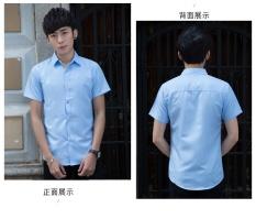 Spesifikasi Formal Shirt Fashion Musim Panas Pendek Lengan Kemeja Batik Pria Lengan Panjang Intl Terbaru