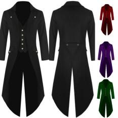 Formal Vintage Men s Coat Fashion Steampunk Retro Tailcoat Jacket Gothic  Dinner Dance Party Coat Men s Uniform 79d9e5d6cc