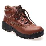 Toko Formen Mid Cut Safety Shoes Spt 041 Coklat Terlengkap Indonesia