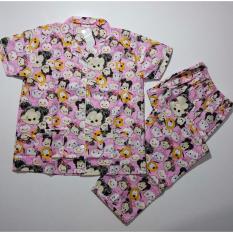 Jual Fortune Fashion Cp Tsum Besar Pink Piyama Murah Piyama Karakter Baju Santai Daster Daster Murah Baju Tidur Wanita Dki Jakarta