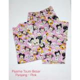 Fortune Fashion Baju Tidur Wanita CP Tsumia Besar - Red / Piyama Murah / Piyama Karakter / Baju Santai / Daster / Daster Murah   Lazada Indonesia