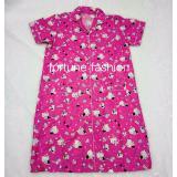 Beli Fortune Fashion Daster Kitty Mania Pink Piyama Murah Piyama Karakter Baju Santai Daster Murah Baju Tidur Wanita Online