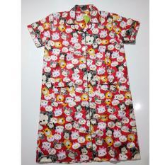 Fortune Fashion Daster Tsum Besar Merah Piyama Murah Piyama Karakter Baju Santai Daster Murah Baju Tidur Wanita Promo Beli 1 Gratis 1