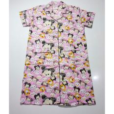 Diskon Fortune Fashion Daster Tsum Besar Pink Piyama Murah Piyama Karakter Baju Santai Daster Murah Baju Tidur Wanita