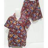 Harga Fortune Fashion Piyama Batik Pendek Maroon Dan Spesifikasinya