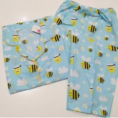 Harga Fortune Fashion Piyama Cp Bee Blue Piyama Murah Piyama Karakter Baju Santai Daster Daster Murah Baju Tidur Wanita