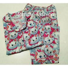 Harga Termurah Fortune Fashion Piyama Cp Marie Cat Piyama Murah Piyama Karakter Baju Santai Daster Daster Murah Baju Tidur Wanita