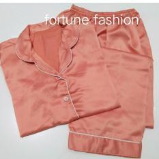 Beli Barang Fortune Fashion Piyama Cp Satin Salem Piyama Murah Piyama Karakter Baju Santai Daster Daster Murah Baju Tidur Wanita Online