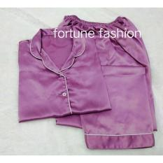 Toko Fortune Fashion Piyama Cp Satin Ungu Pink Piyama Murah Piyama Karakter Baju Santai Daster Daster Murah Baju Tidur Wanita Fortune Fashion Online
