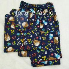Fortune Fashion Piyama Cp Totoro Navy Diskon Akhir Tahun