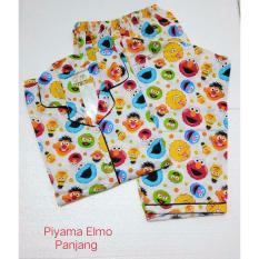 Harga Fortune Fashion Piyama Elmo Panjang Fullset Murah