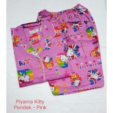 Fortune Fashion Piyama Kitty Pendek Pink Fortune Fashion Diskon 30
