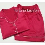 Jual Fortune Fashion Piyama Satin Pendek Fanta Piyama Murah Piyama Karakter Baju Santai Daster Daster Murah Baju Tidur Wanita Fortune Fashion