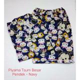 Jual Fortune Fashion Piyama Tsum Besar Pendek Navy Branded