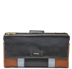 Beli Fossil Ellis Patchwork Clutch Neutral Multi Sl 7112994 Baru