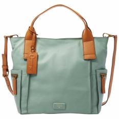Fossil Emerson Large Satchel Seaglass Zb6722116 Fossil Diskon 40