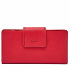 Fossil Emma Tab Clutch Chili Pepper Sl 7154620 Asli