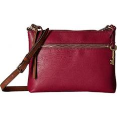 Fossil Fiona E/w Crossbody, Raspberry Wine