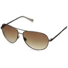 Fossil FOS3010S Aviator Sunglasses,Almond,59 mm