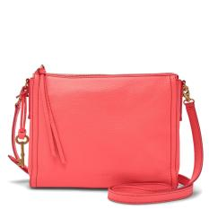 Fossil - Leather Emma - Crossbody - Pink - Tas Wanita - ZB7127-281 - SL