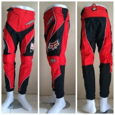 Spek Fox Celana Trail Cross Motocross Racing Merah Celana Dewasa