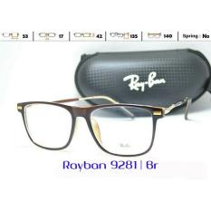 Frame Kacamata Casual Ryban 9281 Pria Wanita Minus Plus Baca Gaya - 73Bb5c