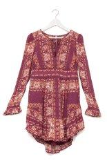Ulasan Tentang Free People Bridgette Mini Dress Multi
