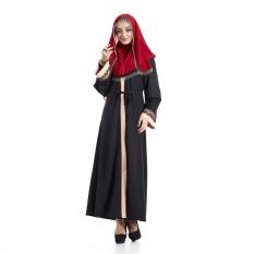 Free Size Lace Muslim Wanita Gaun Panjang Islam Wanita Patchwork Malaysia Abayas-Intl