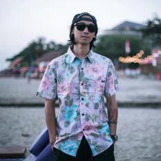 Dapatkan Segera Freebird Hawaiian Shirt Kemeja Pendek Pantai Hawaii