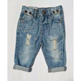Obral Freeshop Celana Jeans Riped Denim Baby Kids Boy F1051 Murah