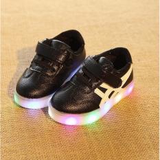 Spesifikasi Freeshop Sepatu Anak Onitsuka Led S275 Black Paling Bagus